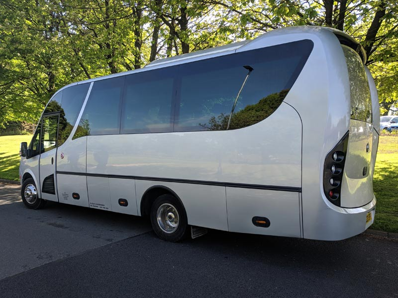 Wright Travel Cheshire - Luxury Minibuses
